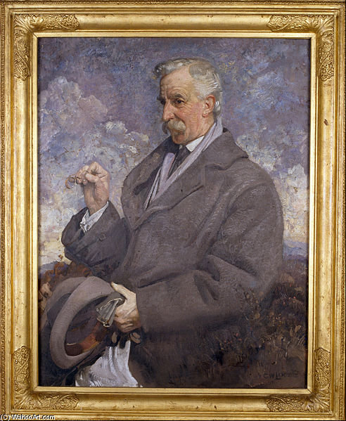 Sir Walter Baldwin Spencer by George Lambert (1873-1930, Russia)