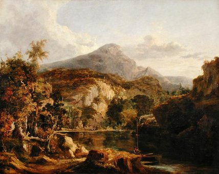 View In The Highlands by George Vincent (1796-1831, United Kingdom)