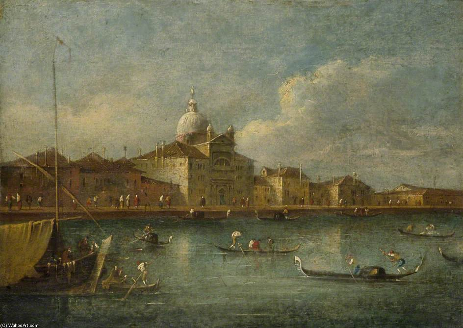 Grand Canal, Venice by Giacomo Piazzetta (1640-1705, Italy)