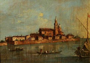 Giacomo Piazzetta - View Of The Island Of San Andr..