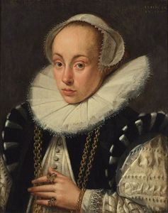 Gortzius Geldorp - Portrait Of A Lady