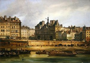 Guiseppe Canella - Hotel De Ville And Embankment,..