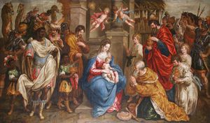 Hendrick De Clerck - The Adoration Of The Magi