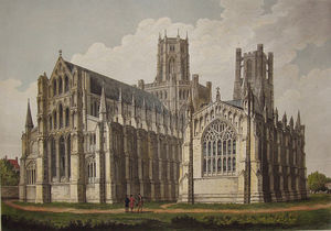John Buckler - Ely Cathedral
