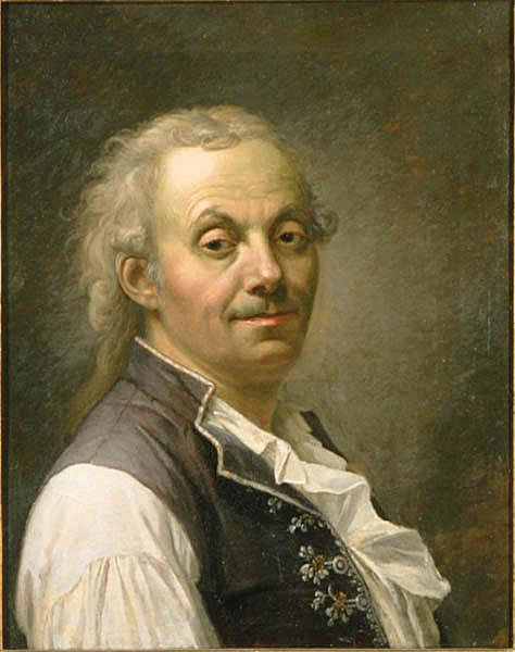Self-portrait by Pehr Hillestrom (1732-1816, Sweden)