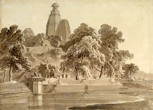 Thomas And William Daniell - Madan Mohan Temple, On The Yam..
