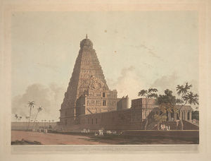 Thomas And William Daniell - The Great Pagoda, Tanjore