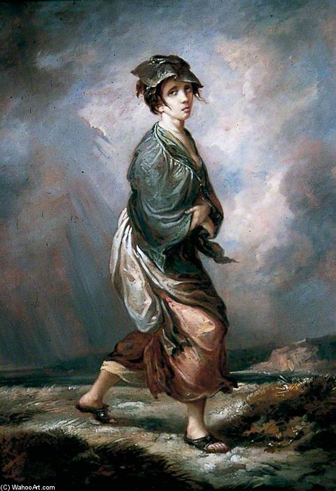 Crazy Kate by Thomas Barker (1769-1847, United Kingdom)