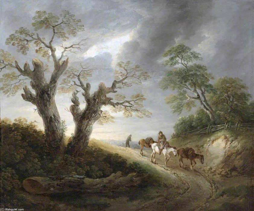 Landscape - by Thomas Barker (1769-1847, United Kingdom)