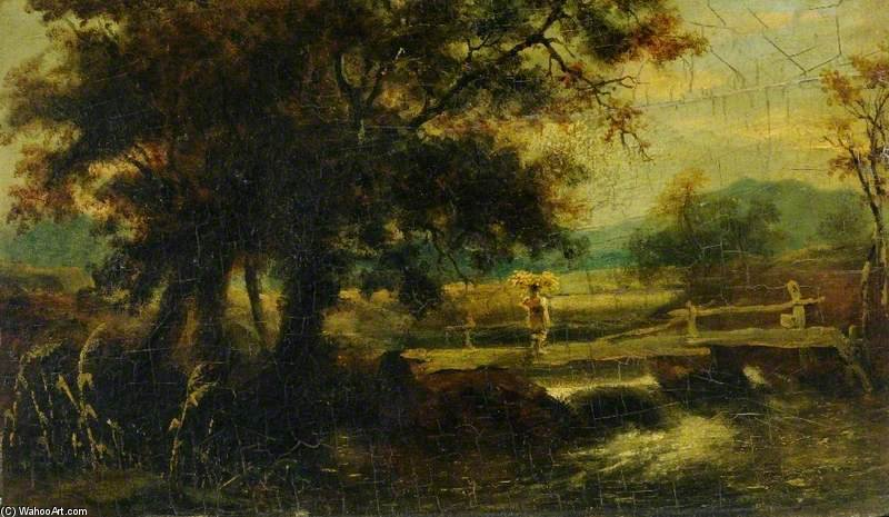 Landscape With A River by Thomas Barker (1769-1847, United Kingdom)