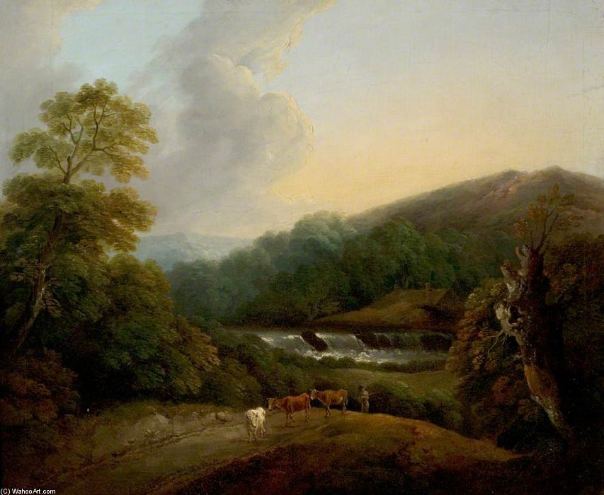 Mountainous Landscape by Thomas Barker (1769-1847, United Kingdom)