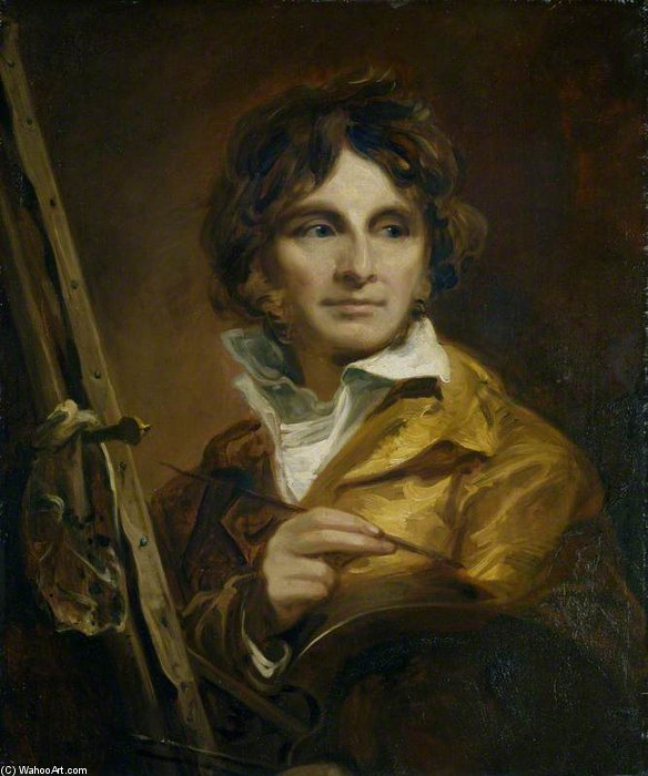 Self Portrait by Thomas Barker (1769-1847, United States) | Museum Quality Reproductions | ArtsDot.com