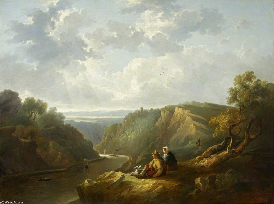 The Avon Gorge by Thomas Barker (1769-1847, United Kingdom)