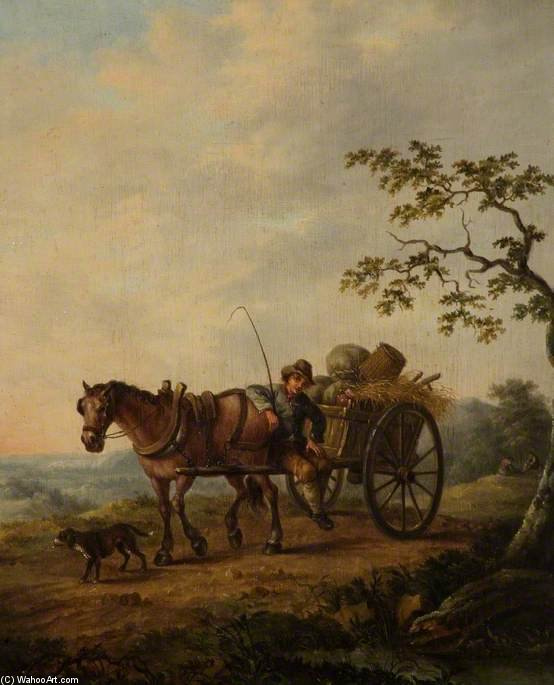 The Country Cart by Thomas Barker (1769-1847, United States)