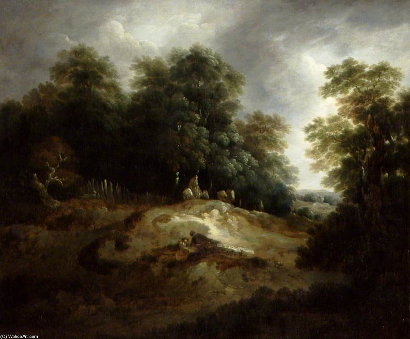 The Edge Of The Common by Thomas Barker (1769-1847, United Kingdom)