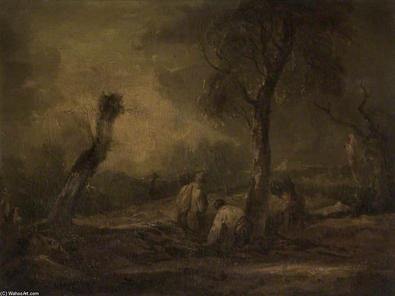 The Woodcutters by Thomas Barker (1769-1847, United Kingdom)