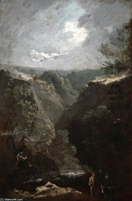 Wick Rocks Near Bath by Thomas Barker (1769-1847, United Kingdom)