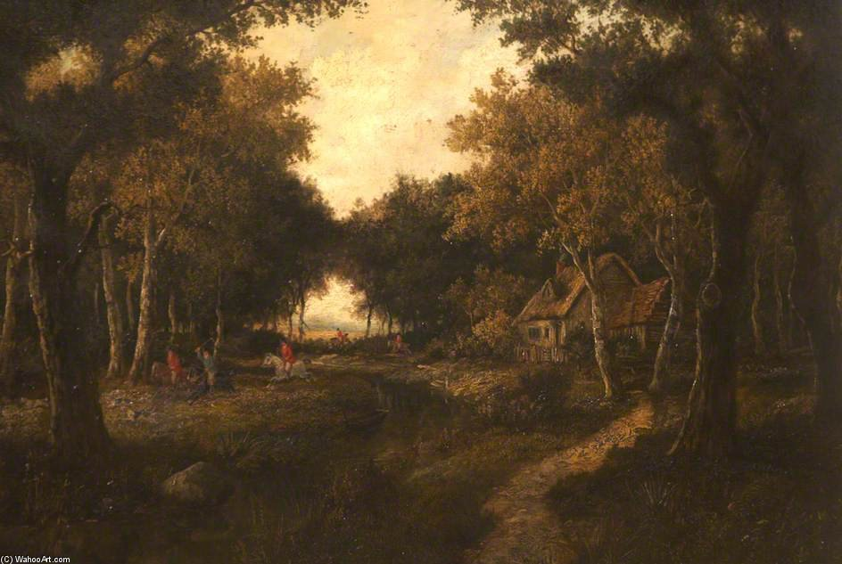 Woodland Hunting by Thomas Barker (1769-1847, United Kingdom)