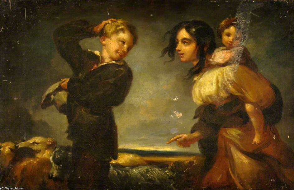 Young Children by Thomas Barker (1769-1847, United Kingdom)