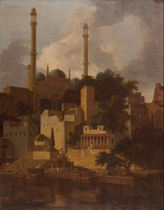 Thomas And William Daniell - Aurangzeb's Mosque