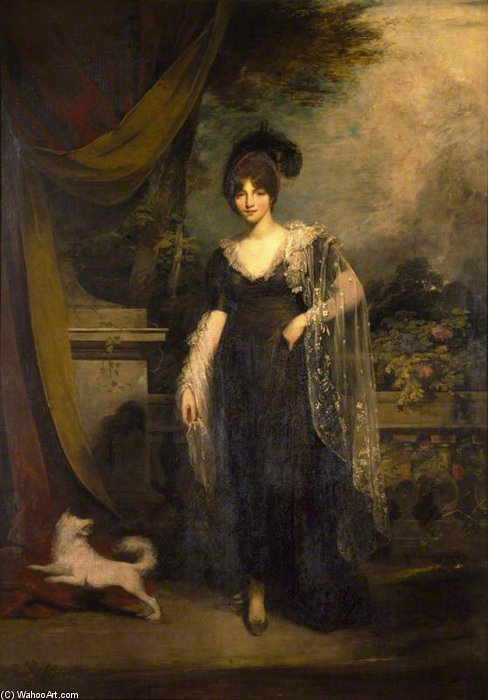 Mrs Robinson by William Owen (1769-1825, United Kingdom) | ArtsDot.com