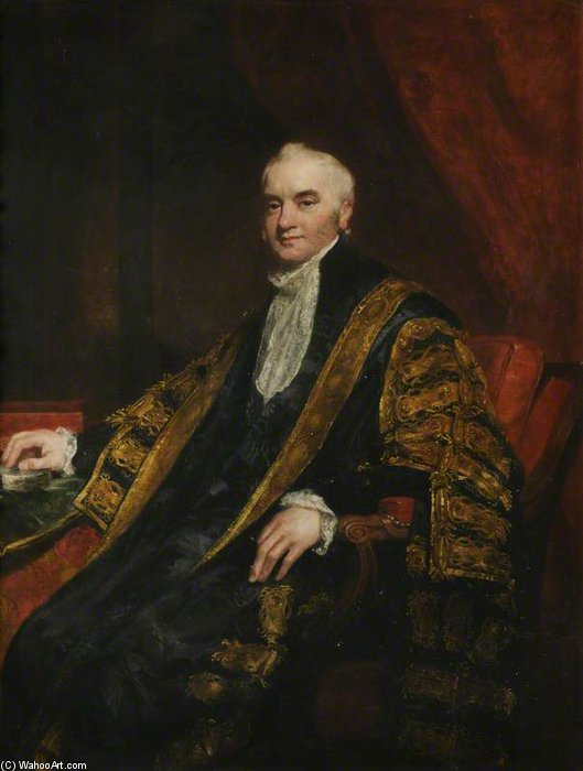 Nicholas Vansittart, Baron Bexley by William Owen (1769-1825, United Kingdom) | Art Reproduction | ArtsDot.com