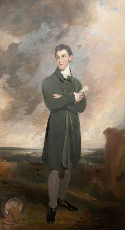 Sir Thomas Dyke Acland by William Owen (1769-1825, United Kingdom)