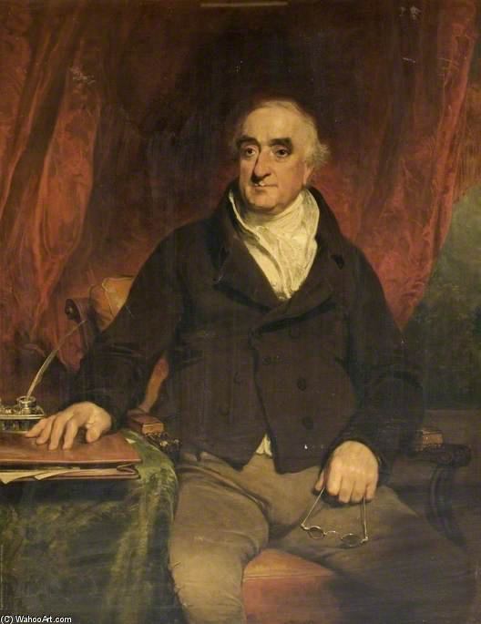 Praed, First Chairman Of The Grand Junction Canal Company by William Owen (1769-1825, United Kingdom)