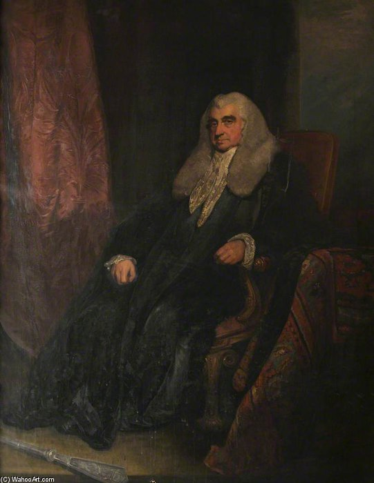 Scott, Baron Stowell, Judge Of The High Court Of Admiralty by William Owen (1769-1825, United Kingdom) | Museum Quality Reproductions | ArtsDot.com