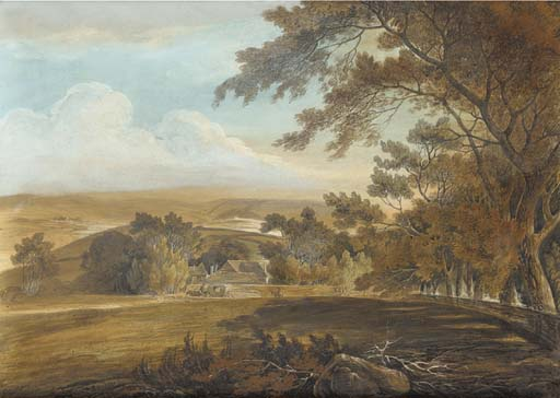 Order Art Reproduction : A Horse Drawn Carriage by William Payne (1760-1830, United Kingdom) | ArtsDot.com