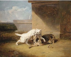 Abraham Cooper - A Dog-fight