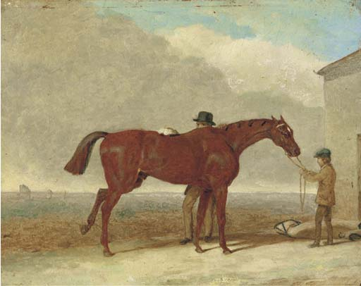 Epsom Downs, Before The Race by Abraham Cooper (1787-1868, United Kingdom)