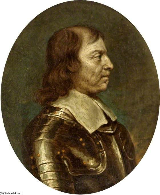 Oliver Cromwell by Abraham Cooper (1787-1868, United Kingdom)