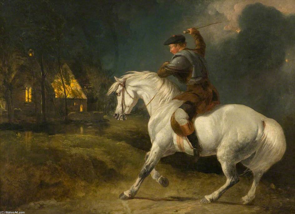 Tam O' Shanter by Abraham Cooper (1787-1868, United Kingdom)