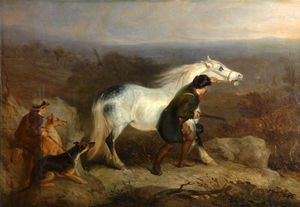Charles Hancock - Stalking Stags In A Highl..