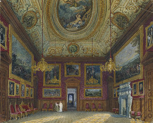 Charles Wild - Kensington Palace, King-s Great Drawing Room