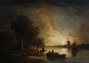 Edward Williams - Nightsbridge - Near The Yarmouth Roads View