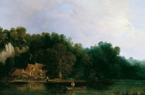 Frederick Waters (William) Watts - View Of The Thames From Tilehurst