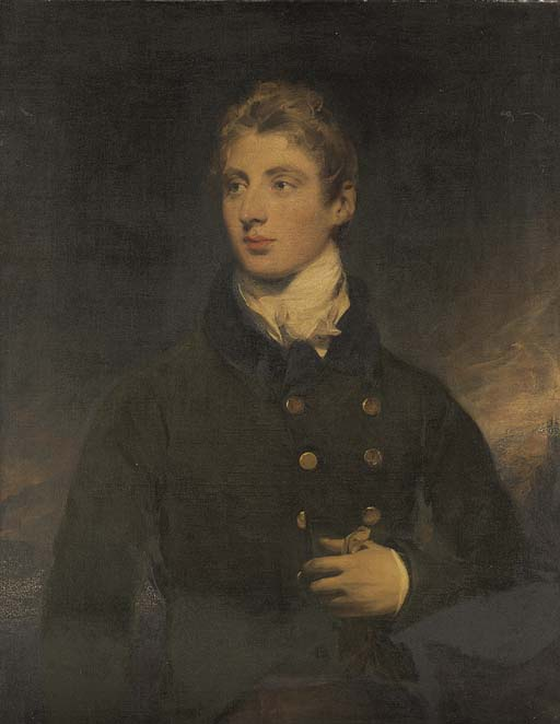 Portrait Of A Gentleman, A Member Of The Wellesley Family by George Henry Harlow (1787-1819, United Kingdom)