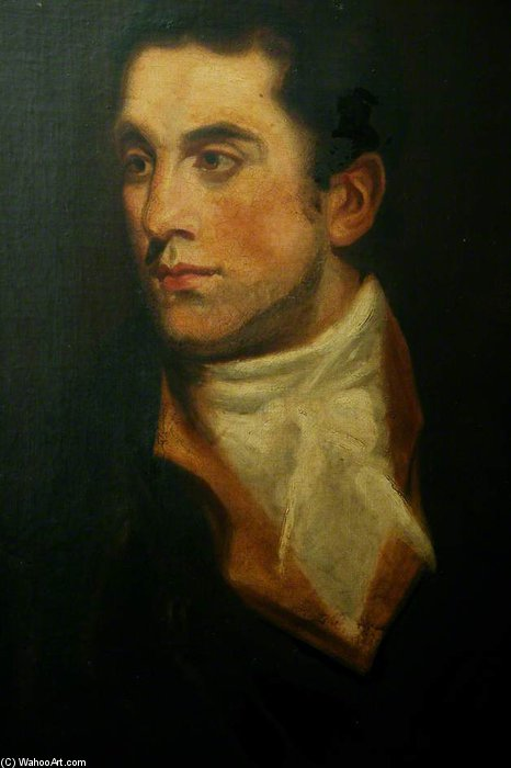 Portrait Of A Gentleman by George Henry Harlow (1787-1819, United Kingdom)