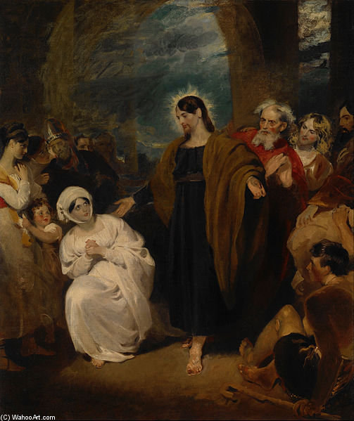 The Virtue Of Faith by George Henry Harlow (1787-1819, United Kingdom)