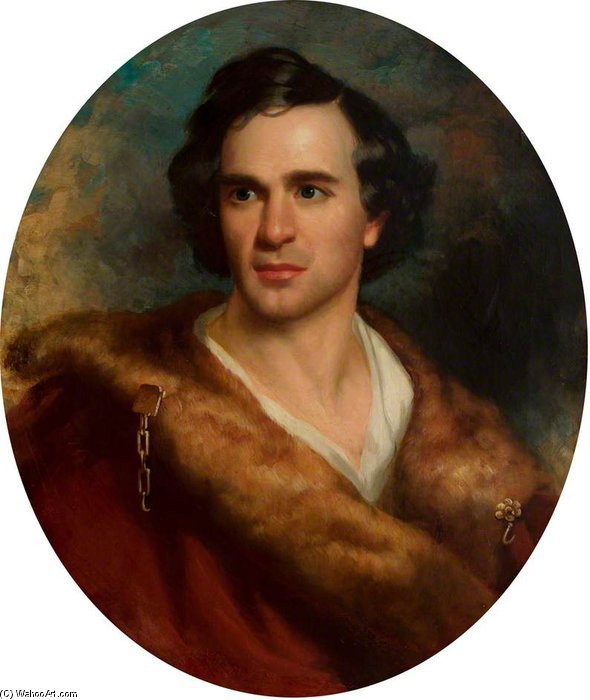 Thomas Barry Sullivan by George Henry Harlow (1787-1819, United Kingdom)