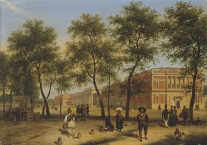 Guiseppe Canella - View Of Alleged Paseo Del..