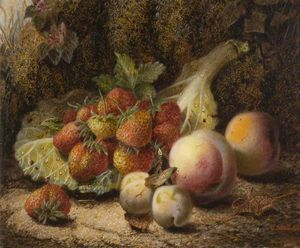 Oliver Clare - Still Life With Strawberries