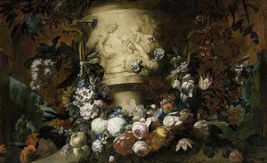 Pieter The Younger Holsteyn - Garland Of Flowers
