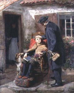 Ralph Hedley - The Convalescent Or The P..