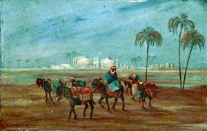 Robert George Talbot Kelly - North African Scene
