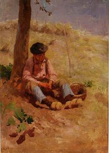 Robert Mcgregor - Field Worker Resting