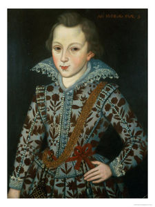 Robert Peake - Portrait Of A Young Boy, Aged Five