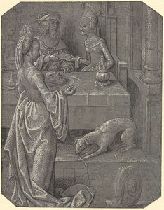 Robinet Testard - Salome With The Head Of J..